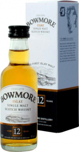 Bowmore - 12 Year Old Miniature (12 x 5cl Miniatures)