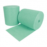 EcoTech Envirowipe Antibacterial Compostable Cleaning Cloths Green (Roll of 2 x 250) (Pack of 2)