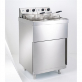 Parry Twin Tank Twin Basket Free Standing Electric Fryer NPDPF9
