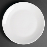 Royal Porcelain Classic White Coupe Plates 150mm (Pack of 12)