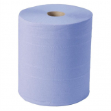 Jantex Blue Maxi Wiper Rolls 2ply (Pack of 2)