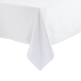 Essentials Occasions Tablecloth White 160 x 160cm (120 TC, Polyester)