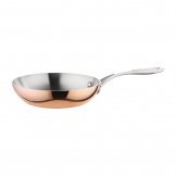 Vogue Tri Wall Copper Frying Pan 200mm
