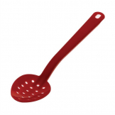 Matfer Exoglass Perforated Serving Spoon Red 13""