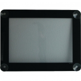 Window Display Menu Frame A4 Black