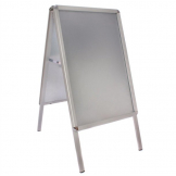 Clip Frame Pavement Sign 780 x 463mm Aluminium