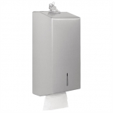Jantex Stainless Bulk Pack Tissue Dispenser