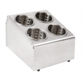 Olympia Cutlery Basket Holder 4 Hole