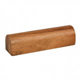 Rounded Acacia Wood Menu Holder