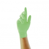 Pearl Powder-Free Nitrile Gloves Green Large (Pack of 100)