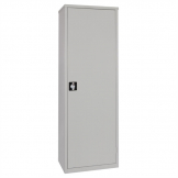 Storage Locker Grey 3 Shelves Grey