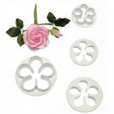 PME Petal Pastry Cutters (Pack of 4)