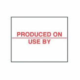 Produced On Labels (Pack of 14000)