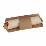 Colpac Compostable Kraft Tortilla Sleeves (Pack of 1000)