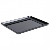 APS Float Melamine Tray Black GN 1/2