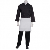 Chef Works Half Bistro Apron White