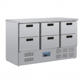 Polar G-Series Six Drawer Counter Fridge