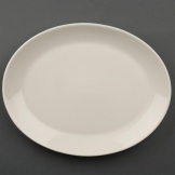 Olympia Ivory Oval Coupe Plates 290mm (Pack of 12)