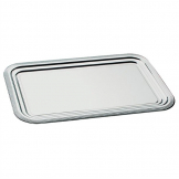 APS Semi-Disposable Party Tray GN 1/1 Chrome