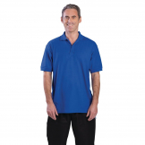 Unisex Polo Shirt Royal Blue XL