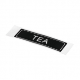 Adhesive Airpot Label - Tea