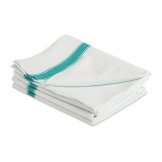 Mitre Essentials Tracks Tea Towel Green