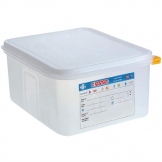 Araven Polypropylene 1/2 Gastronorm Food Container 10Ltr