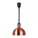Buffalo Rise & Fall Dome Heat Shade Copper Finish