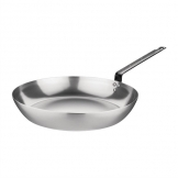 Vogue Carbon Steel Induction Frying Pan 255mm