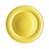 Kristallon Heritage Raised Rim Bowls Yellow 205mm (Pack of 4)