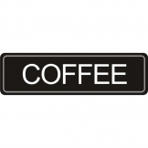 Adhesive Airpot Label - Coffee