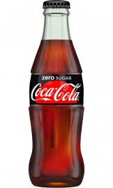 Coca Cola - Zero Sugar (24x 330ml Bottles)