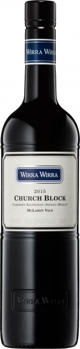 Wirra Wirra - Church Block Cabernet Sauvignon Shiraz Merlot 2017 (75cl Bottle)