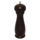 Dark Wood Salt and Pepper Mill 8in