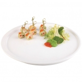 APS Apart Melamine Round Tray White 370mm