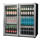 Autonumis Popular Double Hinged Door 3Ft Back Bar Cooler St/St Door A215180