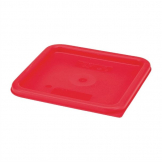 Cambro Camsquare Food Storage Container Lid Red