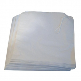 Strung White Paper Counter Bags (Pack of 1000)