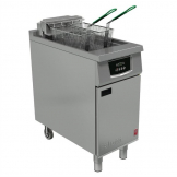 Falcon 400 Series Single Tank Twin Basket Free Standing Electric Filtration Fryer E402F