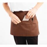 Chef Works Waist Apron Chocolate