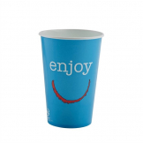 Huhtamaki Enjoy Paper Cold Cups 455ml / 16oz (Pack of 1000)