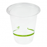 Vegware Compostable Slim Cold Cups 200ml / 7oz (Pack of 1000)