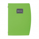 Securit Rio Menu Cover Green A4