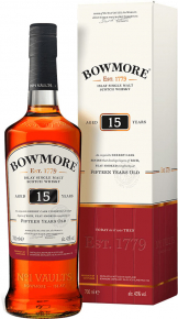 Bowmore - 15 Year Old (70cl Bottle)