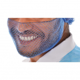 Lion Haircare Beard Snood Light Blue (Pack of 50)