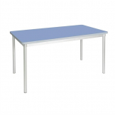 Gopak Enviro Indoor Campanula Blue Rectangle Dining Table 1400mm