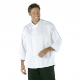 Chef Works Tours Cool Vent Unisex Chefs Jacket White L