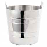 Olympia Polished Stainless Steel Wine And Champagne Bucket