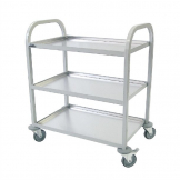 Craven Enamelled 3 Tier Clearing Trolley