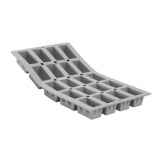 DeBuyer Elastomoule Silicone Mould 20 Mini Cakes 315ml Each